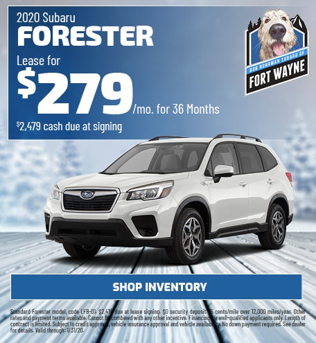 New 2020 Subaru Forester | Lease