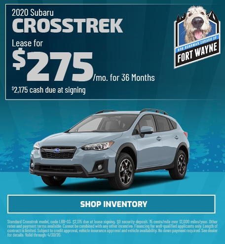New 2020 Subaru Crosstrek | Lease