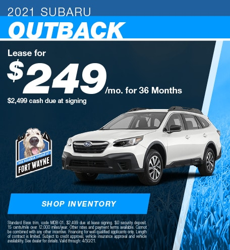 New 2021 Subaru Outback | Lease