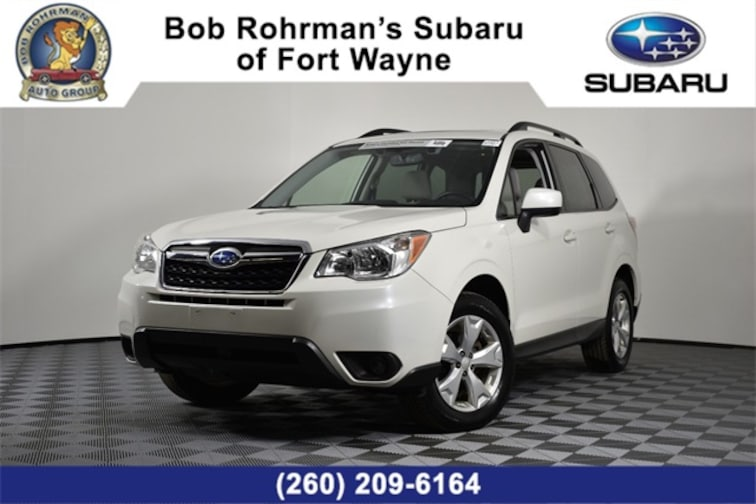 Certified Pre-Owned  2016 Subaru Forester 2.5i Premium SUV For Sale in Fort Wayne, IN