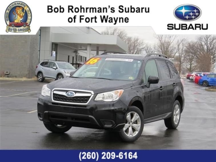 Used  2016 Subaru Forester 2.5i Premium SUV For Sale in Fort Wayne, IN