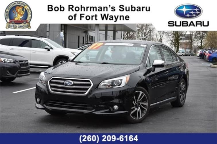 Used  2017 Subaru Legacy 2.5i Sport with Sedan For Sale in Fort Wayne, IN