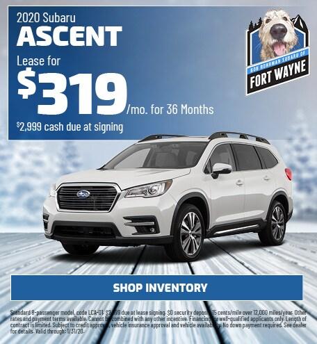 New 2020 Subaru Ascent | Lease
