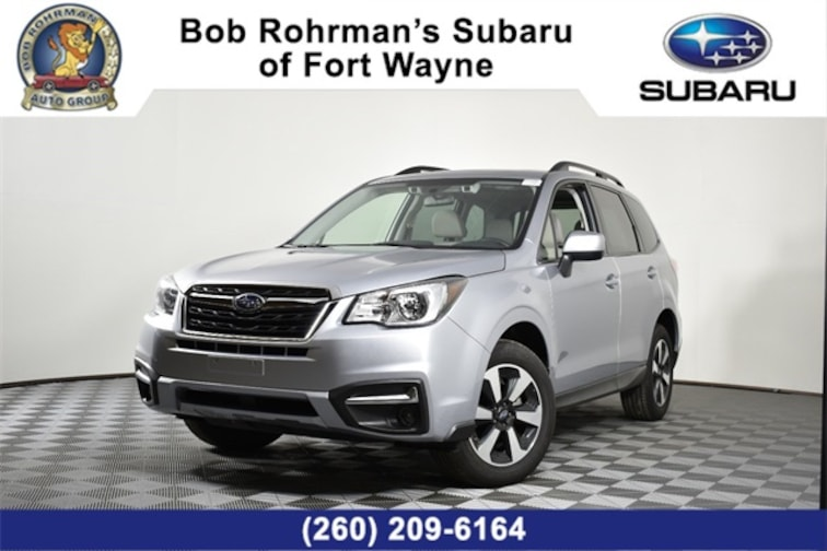 Certified Pre-Owned  2018 Subaru Forester 2.5i Premium SUV For Sale in Fort Wayne, IN