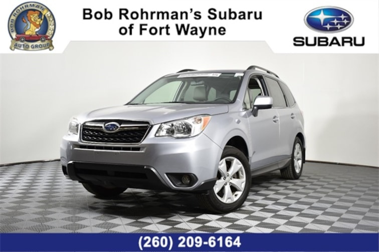 Certified Pre-Owned  2016 Subaru Forester 2.5i Limited SUV For Sale in Fort Wayne, IN