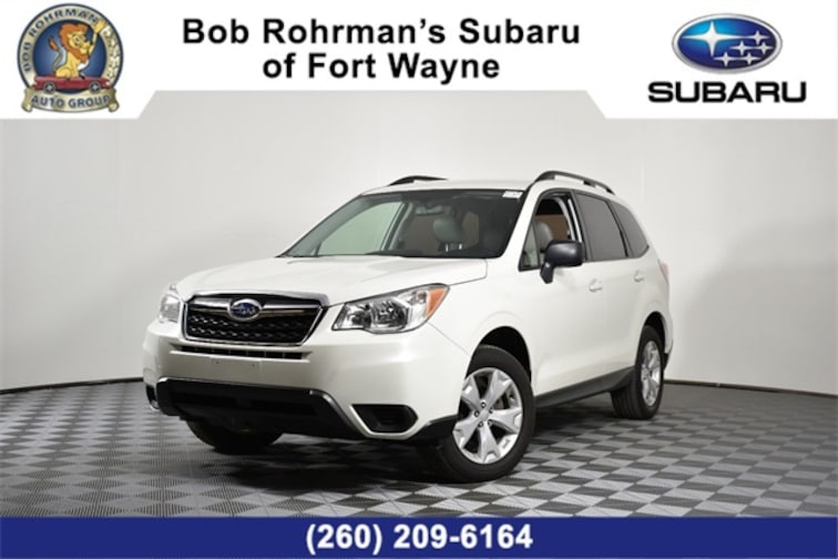 Used  2016 Subaru Forester 2.5i SUV For Sale in Fort Wayne, IN