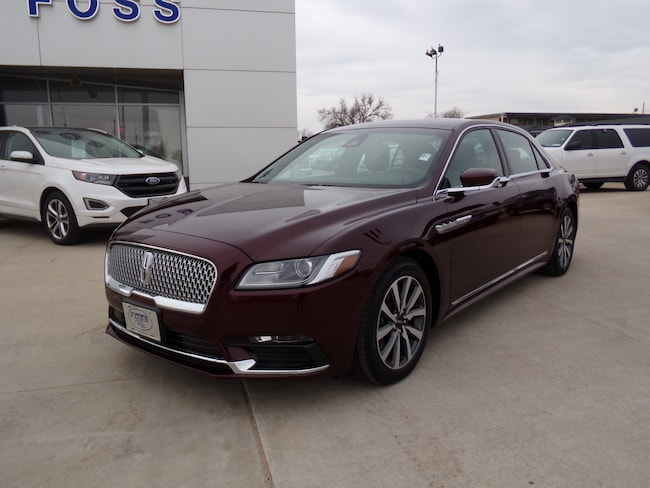Used 2017 Lincoln Continental For Sale Liberal Ks