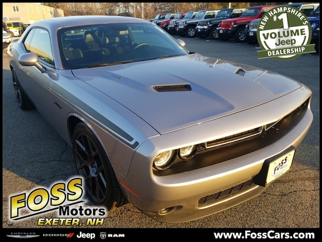 Certified 2016 Dodge Challenger R/T Coupe Exeter, NH