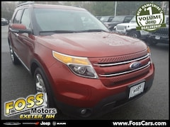 2014 Ford Explorer Limited SUV in Exeter NH at Foss Motors Inc