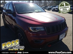 2019 Jeep Grand Cherokee TRAILHAWK 4X4 Sport Utility in Exeter NH at Foss Motors Inc
