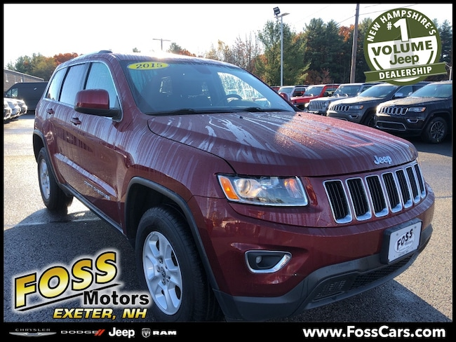 Certified 2015 Jeep Grand Cherokee Laredo SUV Exeter, NH