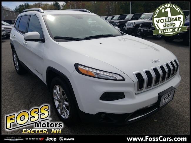 Certified 2016 Jeep Cherokee Limited SUV Exeter, NH