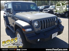 2019 Jeep Wrangler SPORT S 4X4 Sport Utility in Exeter NH at Foss Motors Inc