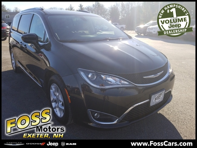 Certified 2017 Chrysler Pacifica Touring L Plus Minivan/Van Exeter, NH