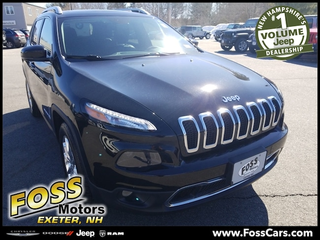 Certified 2017 Jeep Cherokee Limited SUV Exeter, NH