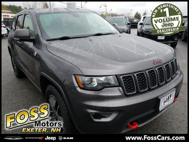 Certified 2017 Jeep Grand Cherokee Trailhawk SUV Exeter, NH