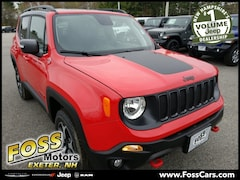 2019 Jeep Renegade TRAILHAWK 4X4 Sport Utility in Exeter NH at Foss Motors Inc