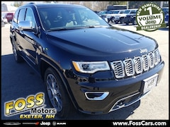 2019 Jeep Grand Cherokee OVERLAND 4X4 Sport Utility in Exeter NH at Foss Motors Inc