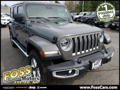 2019 Jeep Wrangler UNLIMITED SAHARA 4X4 Sport Utility in Exeter NH at Foss Motors Inc