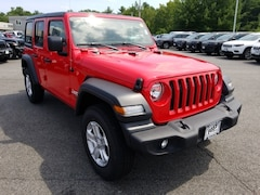 2018 Jeep Wrangler UNLIMITED SPORT S 4X4 Sport Utility in Exeter NH at Foss Motors Inc