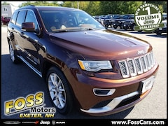 2015 Jeep Grand Cherokee Summit SUV in Exeter NH at Foss Motors Inc