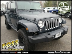 8d2c147d9b 2016 Jeep Wrangler Unlimited Sahara SUV in Exeter NH at Foss Motors Inc