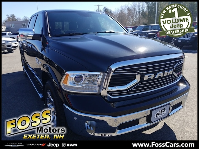 Certified 2018 Ram 1500 Laramie Longhorn Truck Exeter, NH