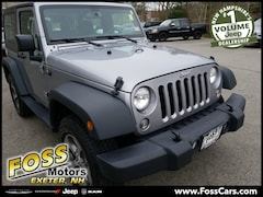 2016 Jeep Wrangler Sport SUV in Exeter NH at Foss Motors Inc