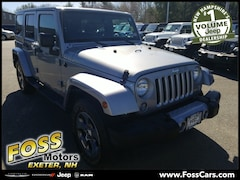 2016 Jeep Wrangler Unlimited Sahara SUV in Exeter NH at Foss Motors Inc