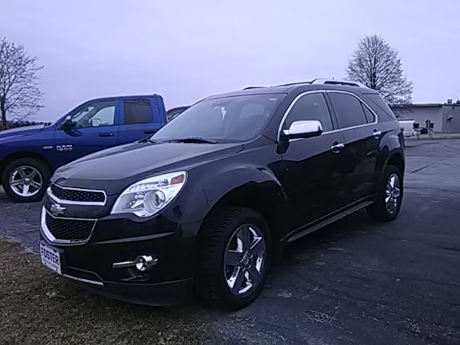 Used 2015 Chevrolet Equinox 4X4 LTZ SUV for sale in Middlebury VT