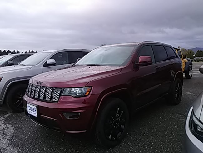 New 2019 Jeep Grand Cherokee Laredo Altitude 4X4 SUV for sale in Vermont