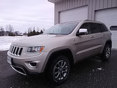 Used 2014 Jeep Grand Cherokee Limited 4X4 SUV for sale in Middlebury VT