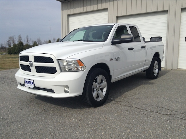 Used 2016 Ram 1500  Express 4X4 Truck Quad Cab for sale in Middlebury VT