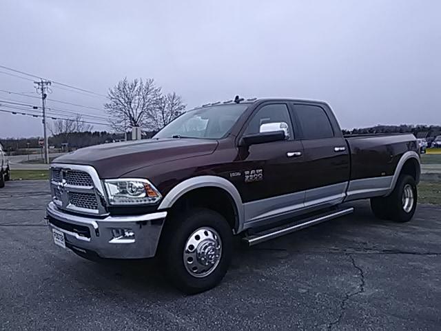 2014 Ram 3500 4X4 Dual Wheel Laramie Truck Crew Cab