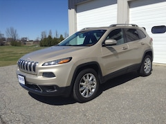 Used 2014 Jeep Cherokee Limited 4X4 SUV for sale in Middlebury VT