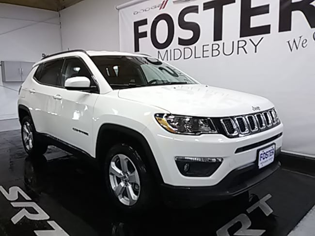 New 2019 Jeep Compass Latitude 4X4 SUV for sale in Vermont