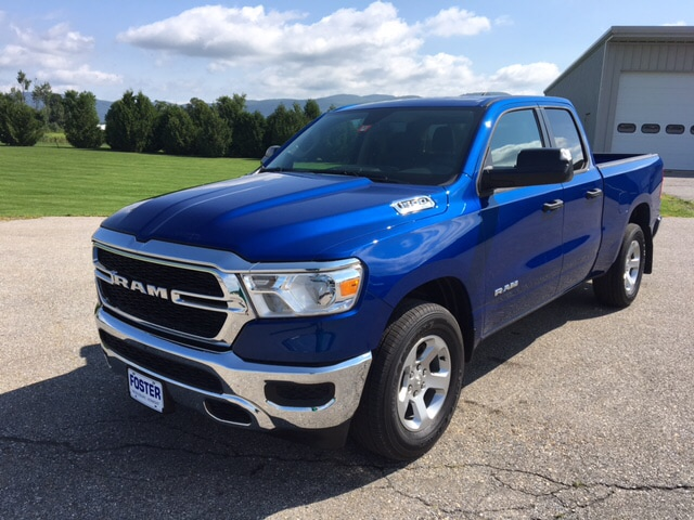 New 2019 Ram 1500 4X4 Tradesman eTorque Truck Quad Cab for sale in Vermont