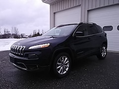 Used 2016 Jeep Cherokee Limited 4X4 SUV for sale in Middlebury VT