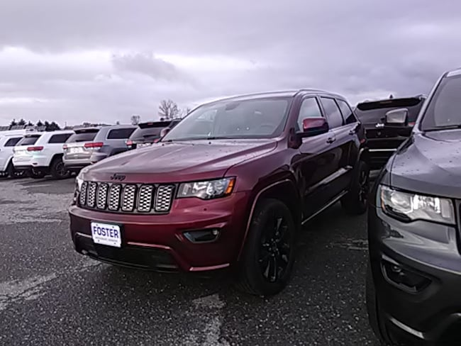 New 2019 Jeep Grand Cherokee-Employee Price Laredo Altitude 4X4 SUV for sale in Vermont