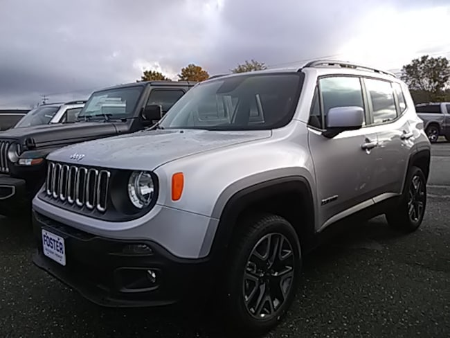 New 2018 Jeep Renegade Latitude 4X4 SUV for sale in Vermont