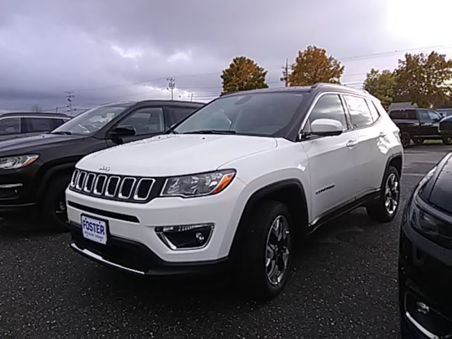 New 2019 Jeep Compass-Employee Price Limited 4X4 SUV for sale in Vermont