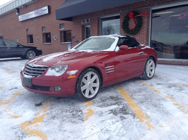 Used 2008 Chrysler Crossfire Limited Convertible for sale in Middlebury VT