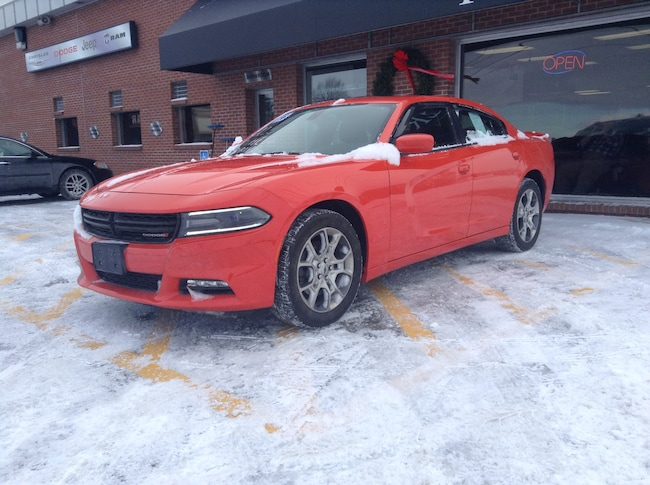 Used 2016 Dodge Charger AWD SXT Sedan for sale in Middlebury VT