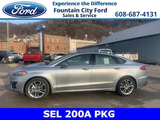 New 2020 Ford Fusion SEL Sedan in Osseo
