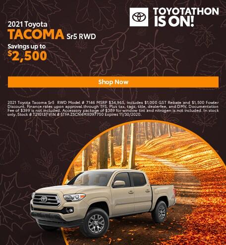 2021 Toyota Tacoma SR5 RWD
