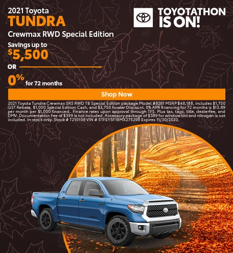 2021 Toyota Tundra Crewmax RWD Special Edition