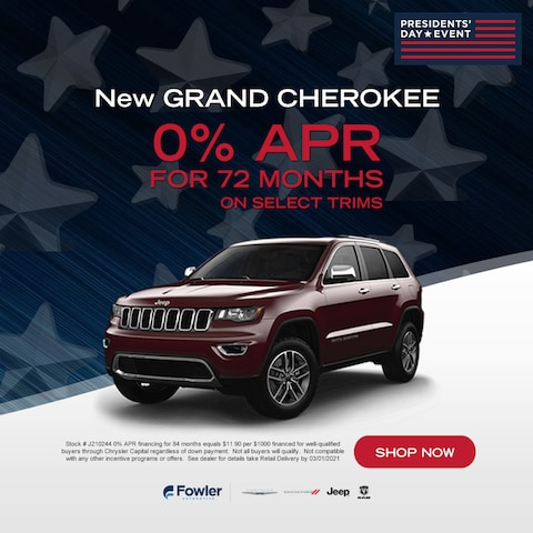 New Grand Cherokees