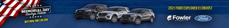 2021 Ford Explorer EcoBoost