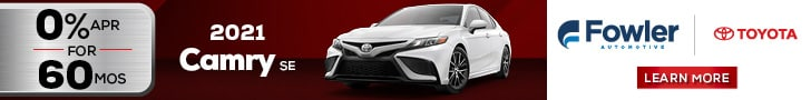 2021 Camry - March