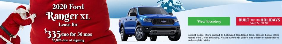 2020 Ford Ranger XL - December 2019